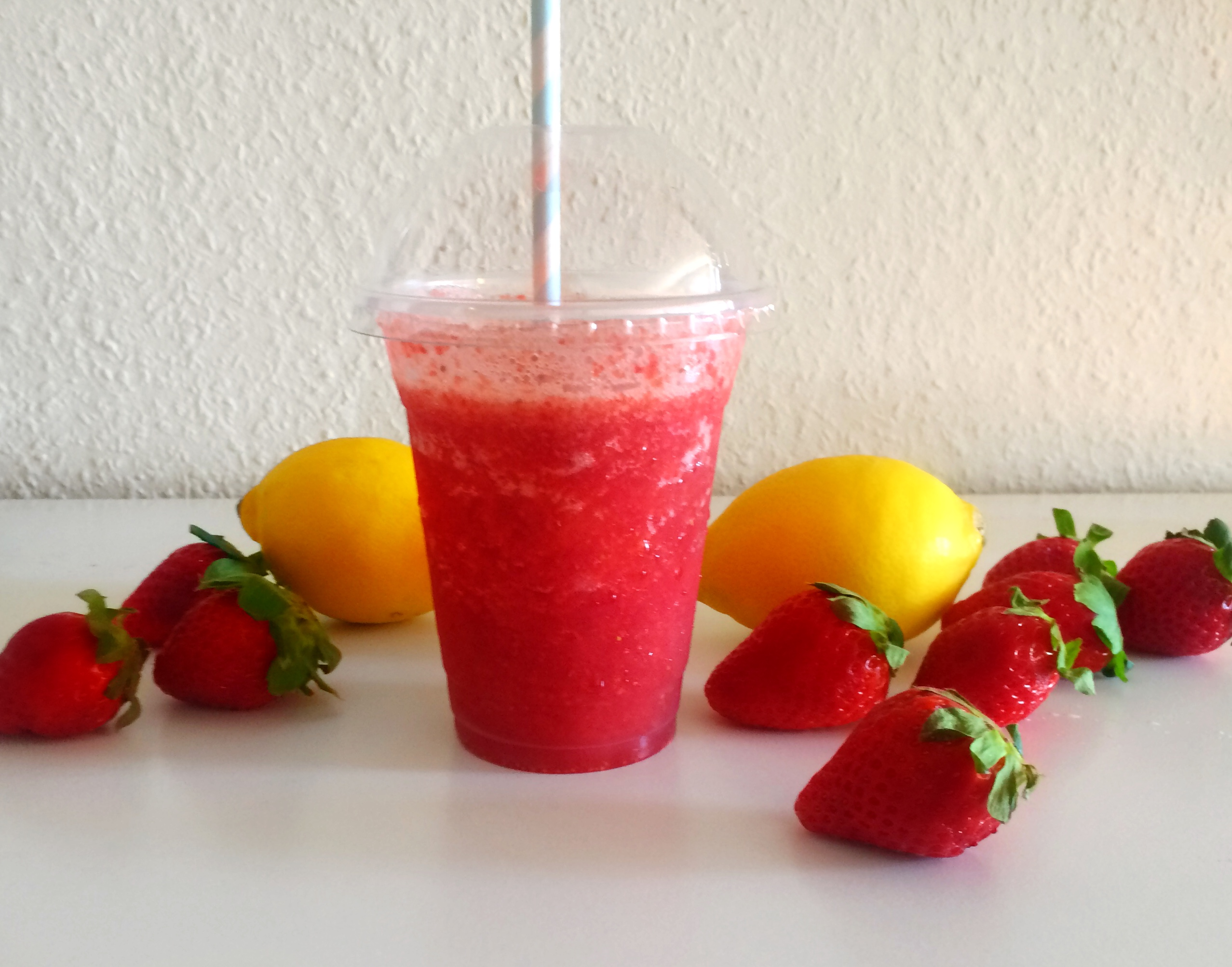 Summer Strawberry Slushie