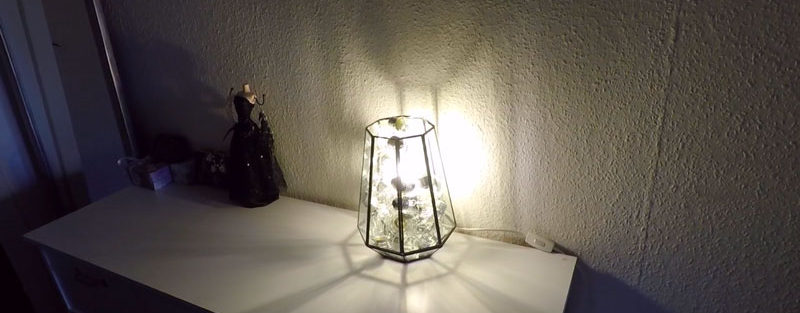 DIY Light Bulb Lamp