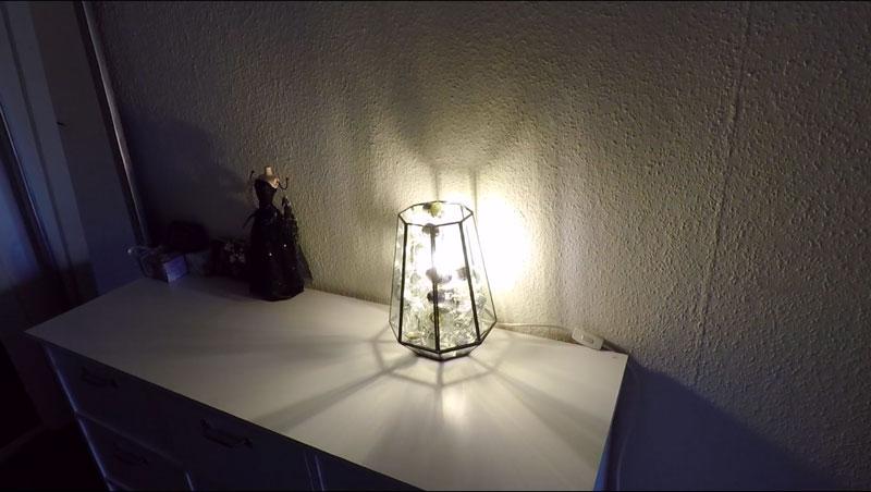 DIY Light Bulb Lamp