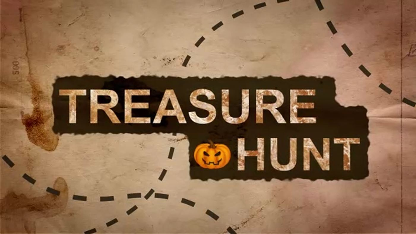 How To Make An Epic Halloween Treasure Hunt