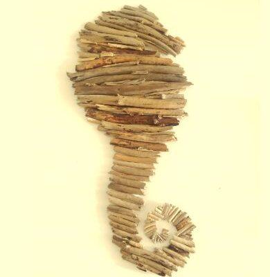 Driftwood Sea Horse